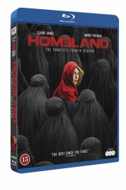 homeland - sæson 4 - Blu-Ray