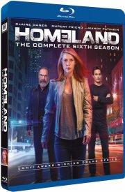 homeland - sæson 6 - Blu-Ray