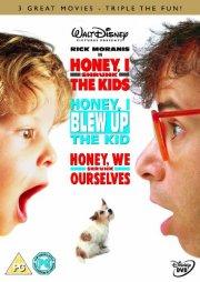 skat, børnene er skrumpet 1-3 / honey, i shrunk the kids 1-3 - DVD