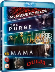 mama // the purge 1 // the purge 2 // as above so below // ouija - Blu-Ray