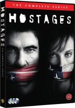 hostages - den komplette serie - DVD