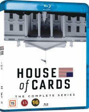 house of cards - den komplette serie - sæson 1-6 - Blu-Ray