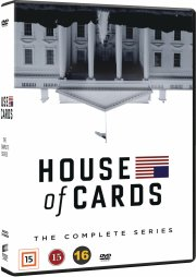 house of cards - den komplette serie - sæson 1-6  - DVD