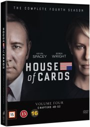 house of cards - sæson 4 - DVD