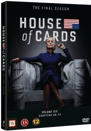 house of cards - sæson 6 - DVD