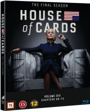 house of cards - sæson 6 - Blu-Ray
