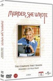 hun så et mord - sæson 1 / murder she wrote - season 1 - DVD