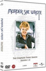 hun så et mord - sæson 3 / murder she wrote - season 3 - DVD