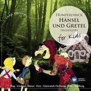 hänsel und gretel highligts - for kids - hunperdinck - cd