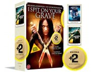 i spit on your grave // identity of a killer // house of the rising sun - DVD