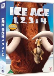 ice age 1-4 box set - DVD