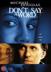 ikke et ord / don't say a word - DVD