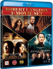 inferno // the da vinci code // engle og dæmoner - Blu-Ray