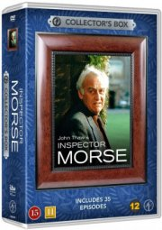 inspector morse box - 35 episoder - DVD