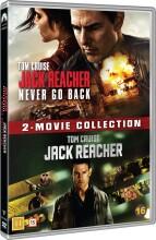jack reacher // jack reacher 2: never go back - DVD