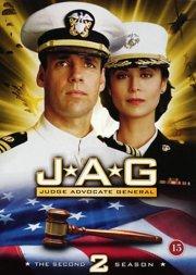 jag - judge advocate general - sæson 2 - DVD