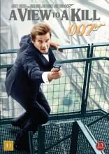 james bond: a view to a kill / james bond i skudlinjen - DVD