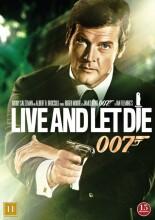 james bond: live and let die / james bond: lev og lad dø - DVD