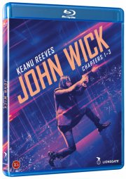 john wick 1-3 komplet boks - Blu-Ray