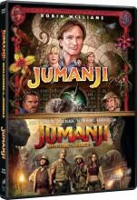 jumanji - 1995 // jumanji - welcome to the jungle - 2017 - DVD