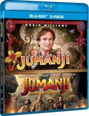 jumanji - 1995 // jumanji - welcome to the jungle - 2017 - Blu-Ray