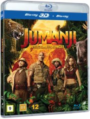 jumanji 2 - welcome to the jungle 2017 - 3D Blu-Ray