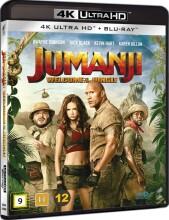 jumanji - welcome to the jungle - 2017 - 4k Ultra HD Blu-Ray