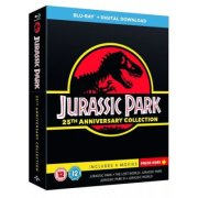 jurassic park 1-4 - 25 års jubilæumsudgave - Blu-Ray
