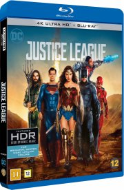 justice league the movie - 2017 - 4k Ultra HD Blu-Ray
