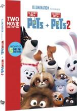 kæledyrenes hemmelige liv 1-2 // the secret life of pets 1-2 - DVD