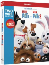 kæledyrenes hemmelige liv 1 og 2 / the secret life of pets 1 and 2 - Blu-Ray