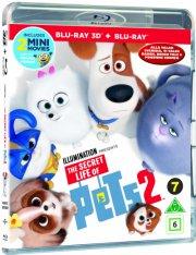 kæledyrenes hemmelige liv 2 / the secret life of pets 2 - 3D Blu-Ray