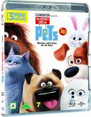 kæledyrenes hemmelige liv / the secret life of pets - 3D Blu-Ray