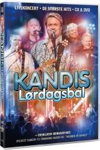 kandis - lørdagsbal  - dvd + cd