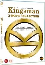 kingsman 1: the secret service // kingsman 2: the golden circle - DVD