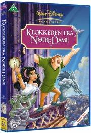 klokkeren fra notre dame - disney - DVD