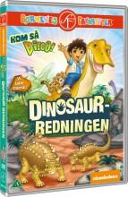 kom så diego / go diego go - dinosaur-redningen - DVD