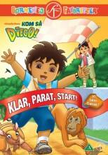 kom så diego / go diego go - klar, parat, start! - DVD