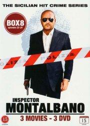 kommissær montalbano - box 8 - episode 22-24 - DVD