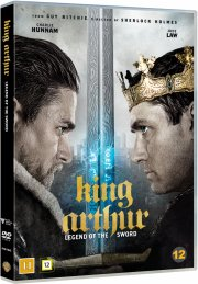 king arthur: legend of the sword / kong arthur: legenden om sværdet - DVD