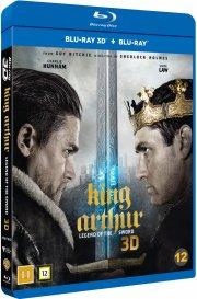 king arthur: legend of the sword / kong arthur: legenden om sværdet - 3D Blu-Ray