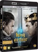 king arthur: legend of the sword / kong arthur: legenden om sværdet - 4k Ultra HD Blu-Ray