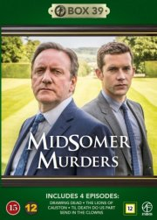 kriminalkommissær barnaby / midsomer murders - box 39 - DVD