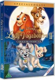 lady og vagabonden 2 - vaks på eventyr - disney - DVD