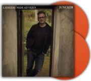 juncker - længere nede ad vejen - orange vinyl - Vinyl / LP