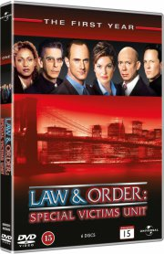 law & order: special victims unit - sæson 1 - DVD