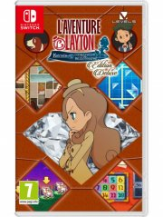 layton's mystery journey: katrielle and the millionaires conspiracy (deluxe edition) - Nintendo Switch