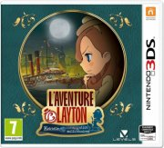 layton's mystery journey: katrielle and the millionaries conspiracy - nintendo 3ds