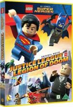 dc comics super heroes: justice league vs. legion of doom - DVD