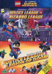 lego dc comics super heroes: justice league vs. bizarro league // justice league vs legion of doom - DVD